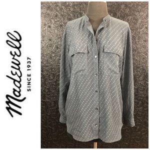 Madewell see-through long sleeve top